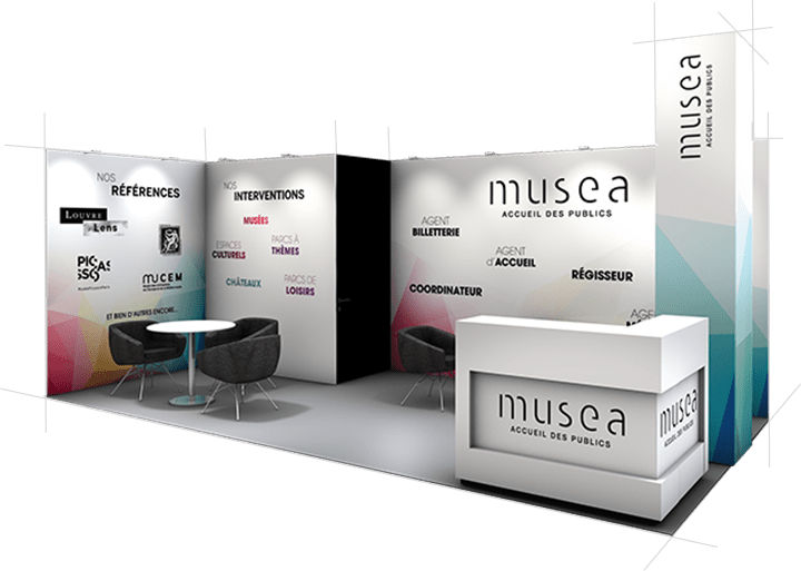 STAND VISION MUSEA audace-expo