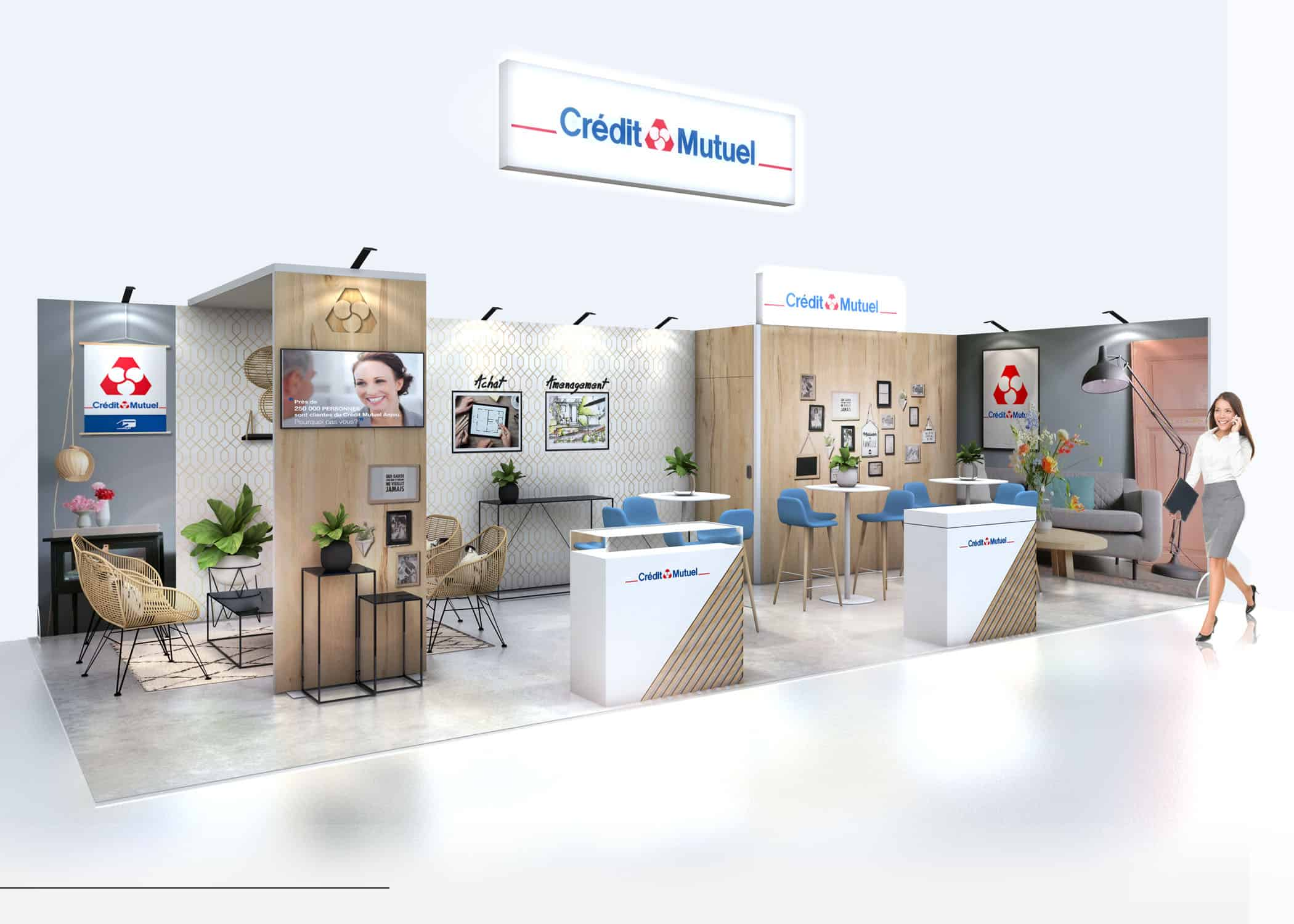 STAND VISION CREDIT MUTUEL audace-expo