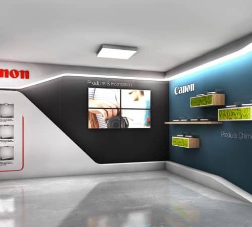 ESPACE DE COMMUNICATION CANON audace-expo
