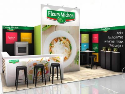 STAND VISION FLEURY MICHON audace-expo